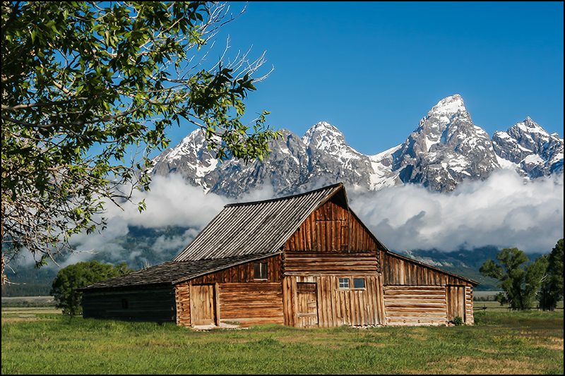 Moulton South Barn, Grand Teton National Park, Wyoming
