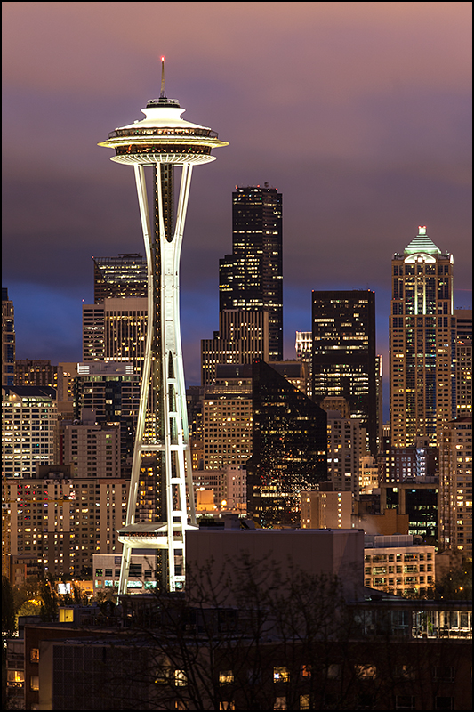 Seattle Skyline, Washington