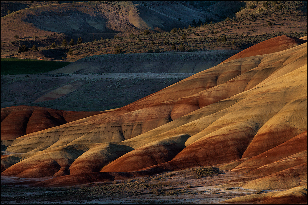 Sunset at John Day Fossil Beds National Monument